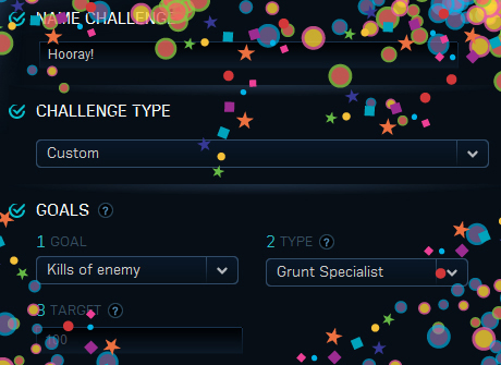 Halo: Reach Custom Challenge