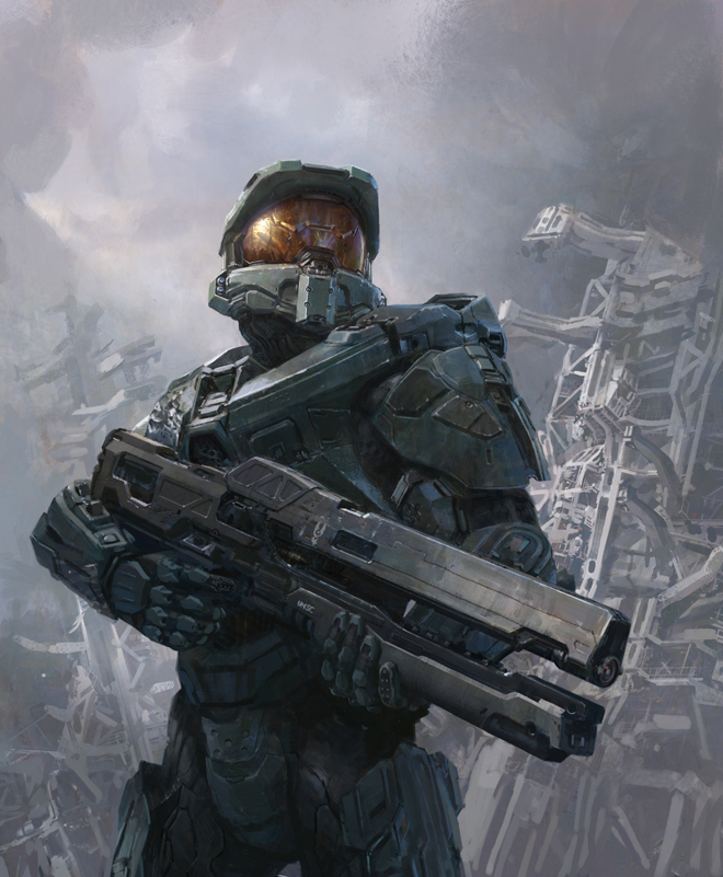 Halo 4 Railgun