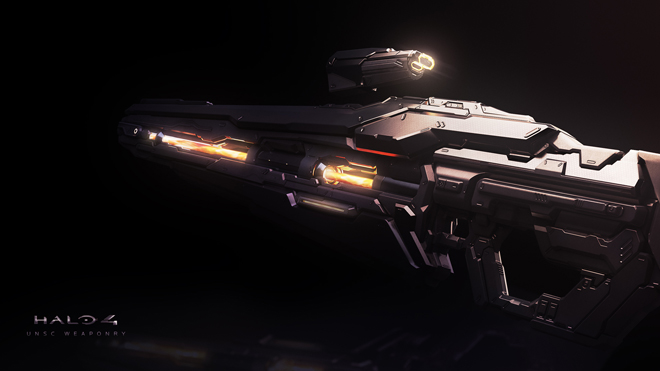 Halo 4 Forerunner Weapons Wallpaper