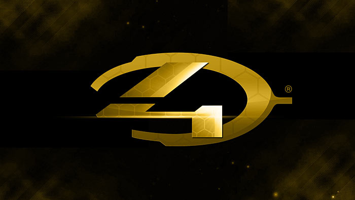 Gold - A Fan-made Halo 4 Wallpaper