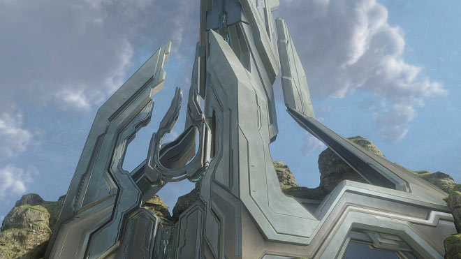 Halo 4 Ravine Screenshot