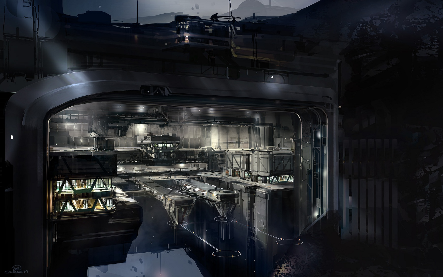 Space Station Interior Concept (page 3) - Pics about space
