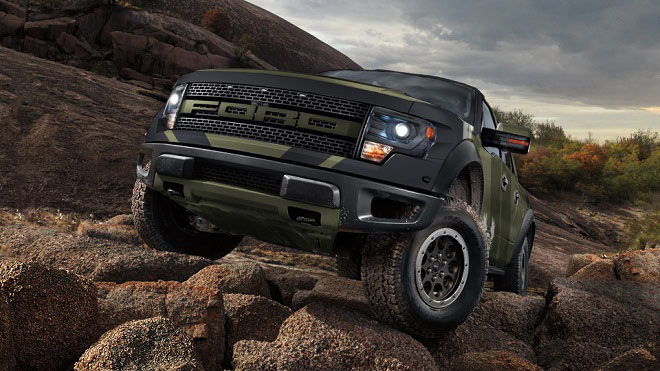 UNSC-themed, V8-powered 2013 Ford F-150 SVT Raptor Truck