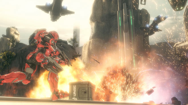 Halo 4 Spartan Ops Screenshot