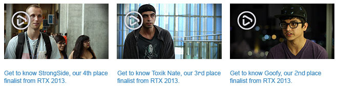RTX Halo 4 Global Championship Winners