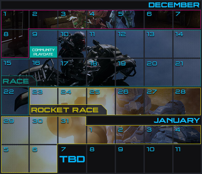Matchmaking  Playlist  Calendar
