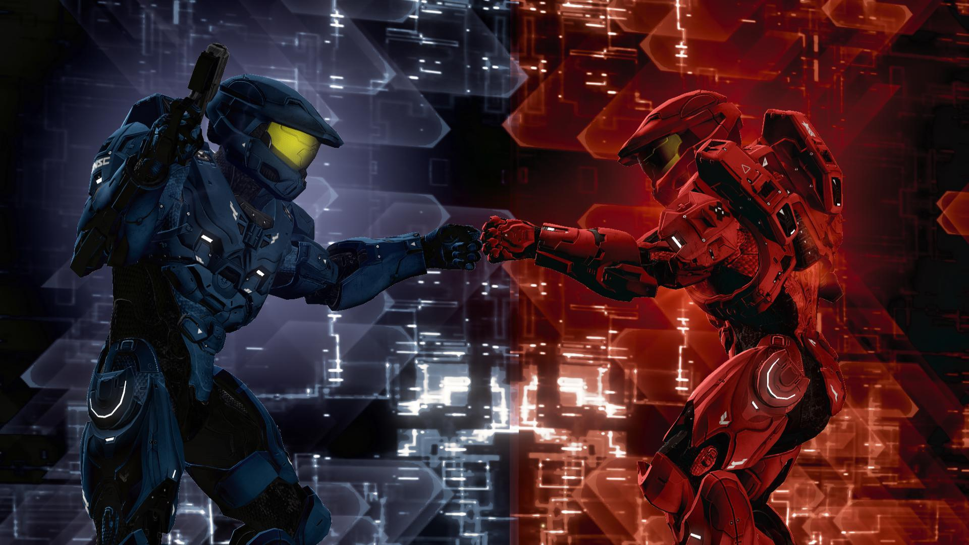 Halo red vs blue porn exposed pic