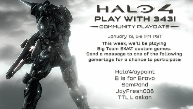 Halo 4 Community Playdate