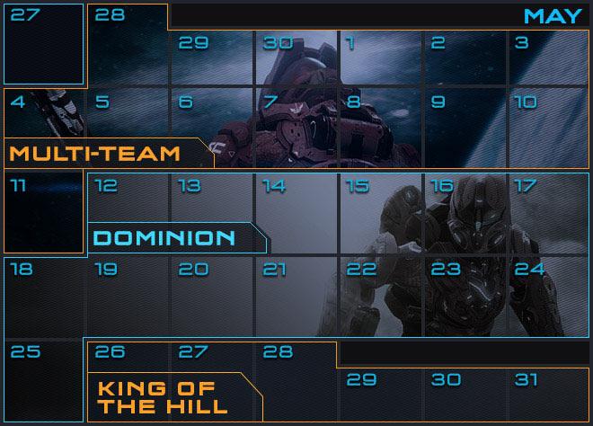 halo 4 matchmaking calendar