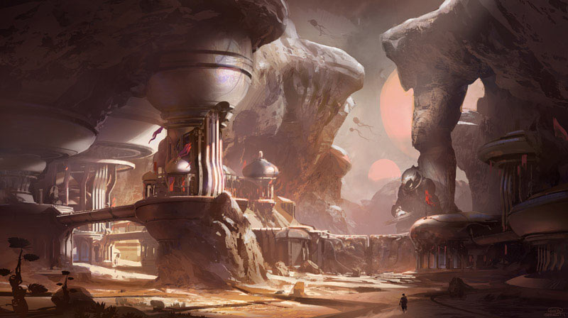 Halo 5 Guardians concept art