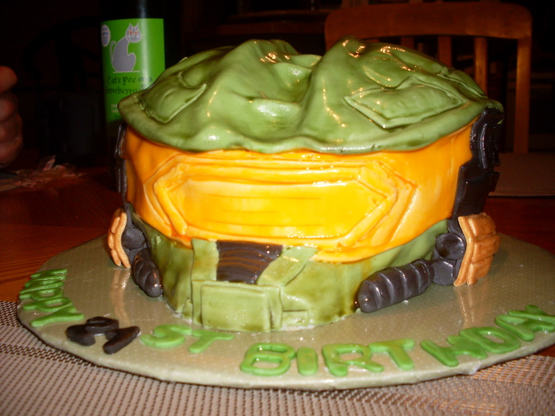 My Halo Birthday Cake