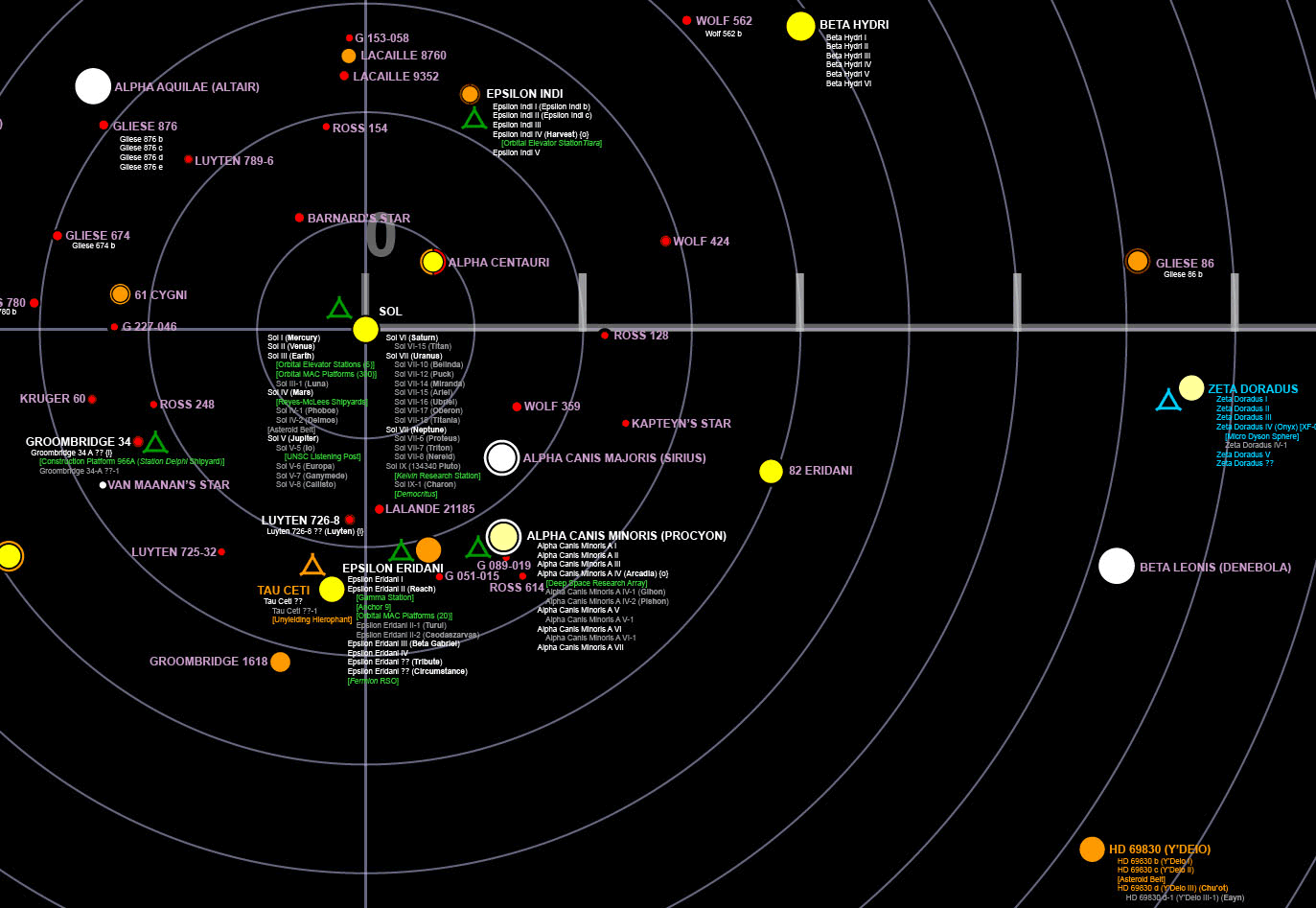 . teaser galaxy map underway