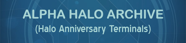 Halo: Combat Evolved Anniversary Terminal Library