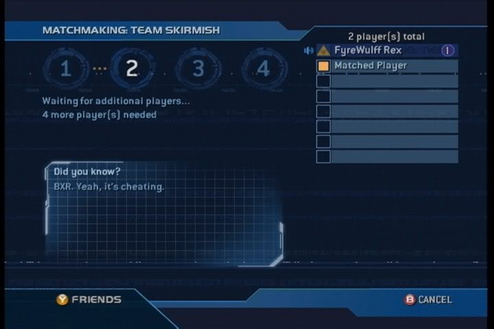halo reach hacker en matchmaking Halo: reach info straight from the developers at bungie.