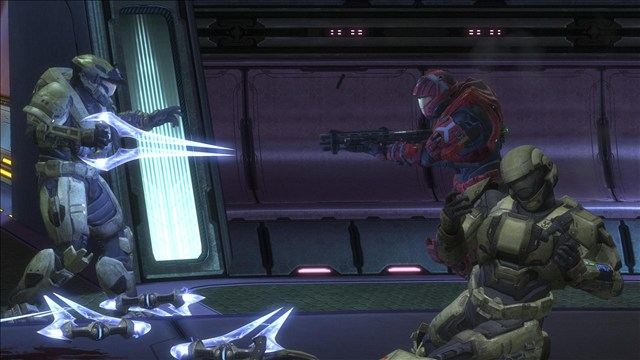 I was in infection with my friends, but this moment wasn't scripted... Seriously.