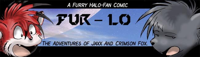 Fur-Lo: a Furry Halo Comic