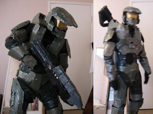 how to make a suit of armor out of cardboard