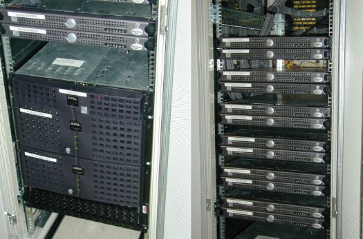 The Server Room We Saw Was Simply Filled With Cabinets Like These Each Is Locked Down Inside Cabinet And