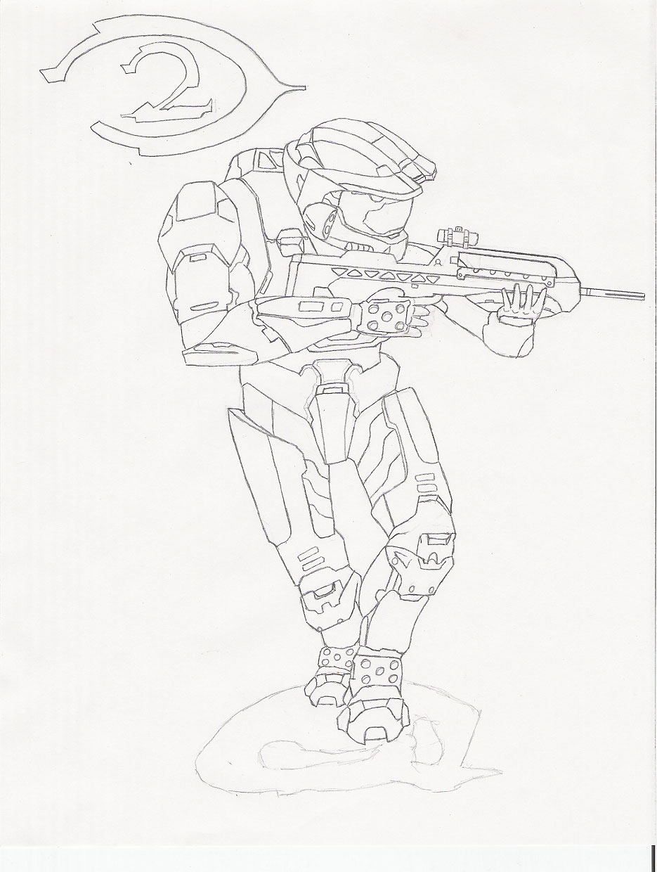 Master Chief Coloring Helmet Coloring Pages Master Chief Coloring Pages