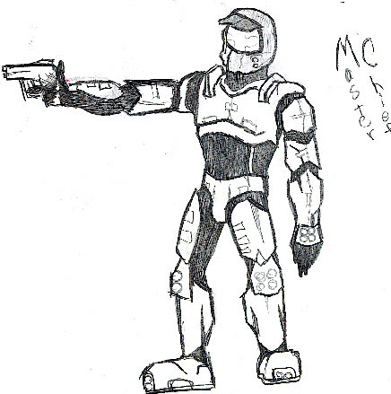 Pin halo jackal colouring pages page 2 on pinterest for Master chief coloring pages