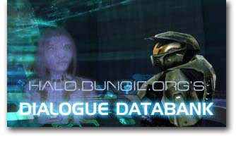 Halo and Halo 2 Dialogue Databank